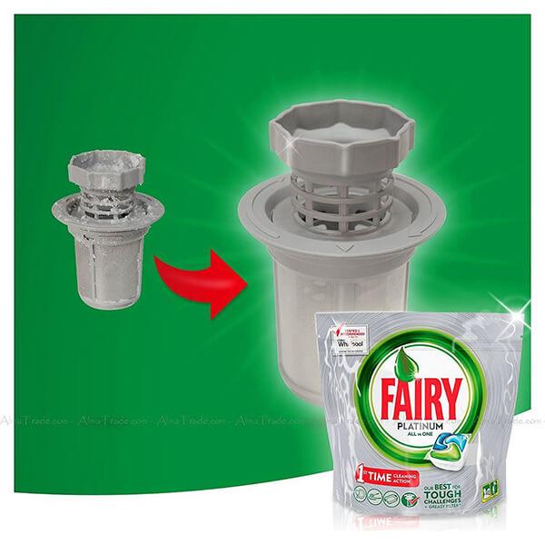 قرص ماشین ظرفشویی پلاتینیوم فیری
