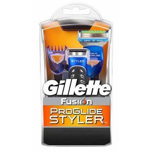 خود تراش ژیلت مدل Fusion Proglide Styler همراه با 3 عدد شانه