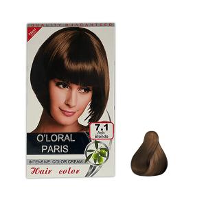 رنگ موی اولورال 7.1