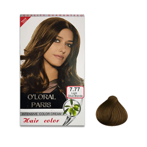 رنگ موی اولورال 7.77