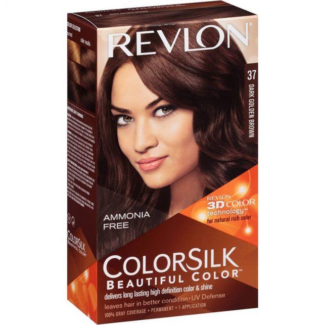 رنگ مو رولون شماره 37 قهوهای طلایی تیره Dark Golden Brown