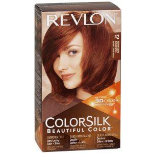 رنگ مو رولون شماره 42 قهوهای مایل به قرمز متوسط Medium Auburn
