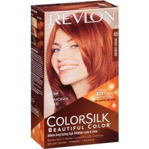 رنگ مو رولون شماره 45 قهوهای مایل به قرمز روشن Bright Auburn