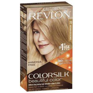 رنگ مو رولون شماره 70 بلوند خاکستری Medium Ash Blonde