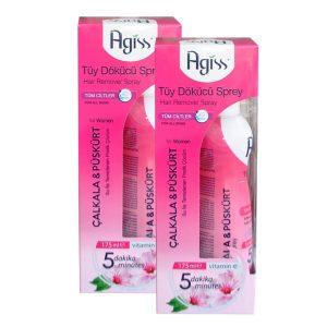 خرید اسپری موبر آگیس صورتی مناسب بانوان Agiss Spray Hair Remover