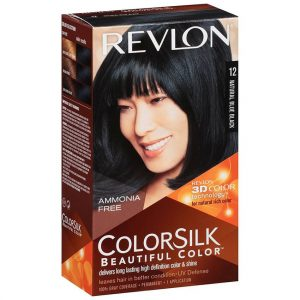 رنگ مو رولون شماره 12 مشکی پر کلاغی طبیعی Natural Blue Black