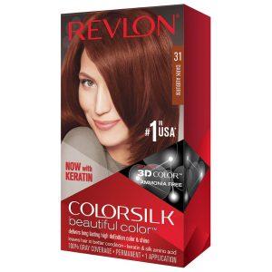 رنگ مو رولون شماره 31 قهوهای مایل به قرمز تیره Dark Auburn