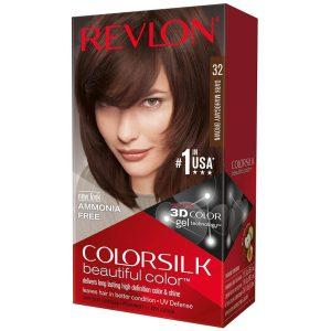 رنگ مو رولون شماره 32 قهوهای مایل به قرمز تیره Dark Mahogany Brown