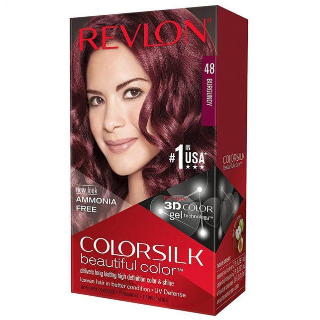 رنگ مو رولون شماره 48 شرابی Burgundy