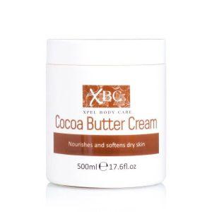 کرم دست و بدن کره کاکائو ایکس بی سی XBC Cocoa Butter Cream 500ml