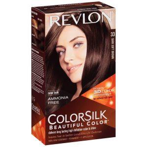 Revlon رنگ مو رولون شماره 33 قهوهای تیره ملایم Dark Soft Brown