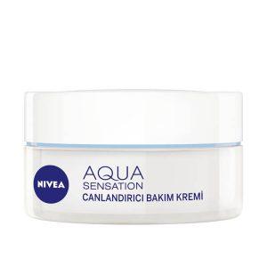 کرم مرطوب کننده و شاداب کننده نیوآ مدل Aqua Sensation 50ml بررسی و خرید