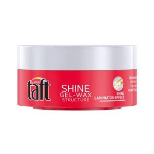خرید و بررسی ژل واکس تافت مدل شاین Taft Shine Gel Wax حجم 75ml