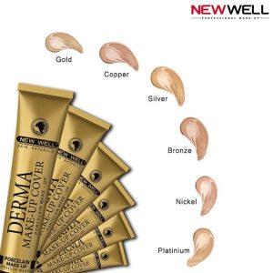 خرید و بررسی درماکاور تیوپی نیوول Newwell Derma Makeup Cover 30ml