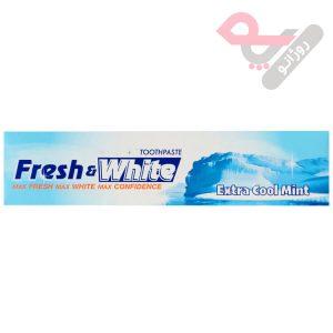 خمیر دندان فرش اند وایت مدل Extra Cool Mint وزن 160 گرم