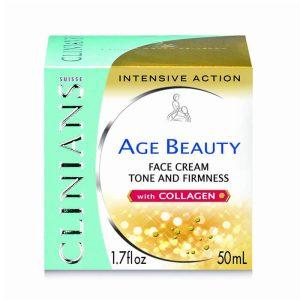 کرم سفت کننده ایج بیوتی کلینیانس Clinians Age Beauty