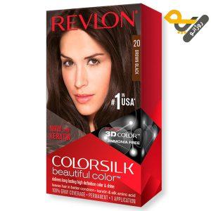 رنگ موی رولون شماره 20 قهوهای شکلاتی