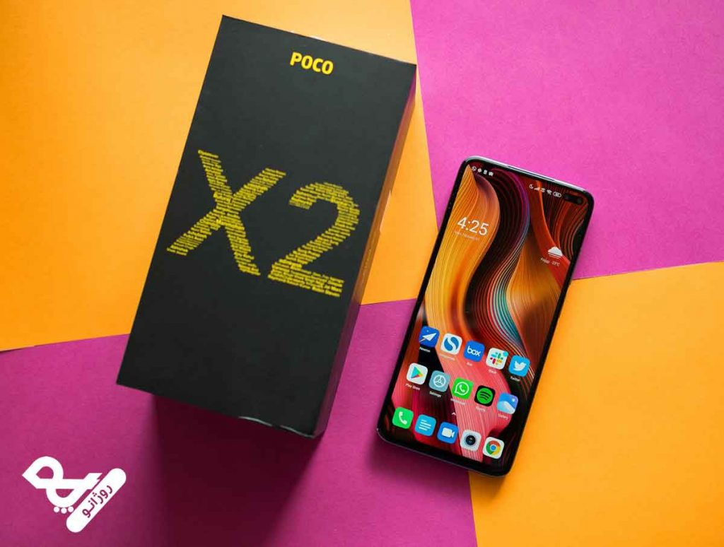 صفحه نمایش گوشی موبایل شیائومی مدل Poco X2