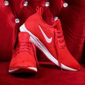 کفش نایک قرمز کد 737