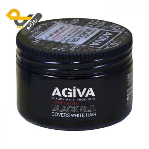 ژل موی سیاه آگیوا Agiva Black Gel حجم 250ml