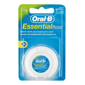 نخ دندان نعنایی خرید اورال بی مدل Essential طول 50 متر