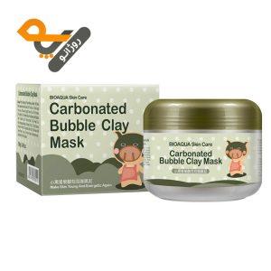 ماسک کربن خاک رس حبابی بیو آکوا Carbonated Bubble حجم 100ml