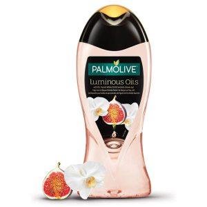 شامپو بدن انجیر و گل ارکیده پالمولیو Luminous Oils حجم 500ml