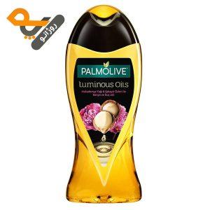 شامپو بدن پالمولیو با عصاره فندق Luminous Oils حجم 500ml
