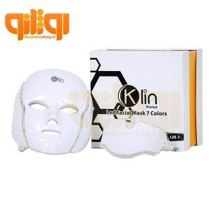 ماسک نقابی صورت و گردن کلین ال ای دی led