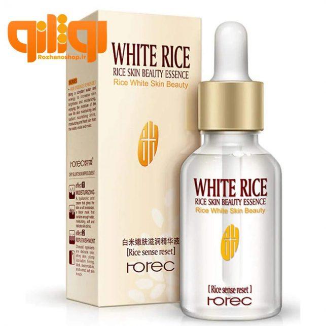سرم برنج رورک White Rice