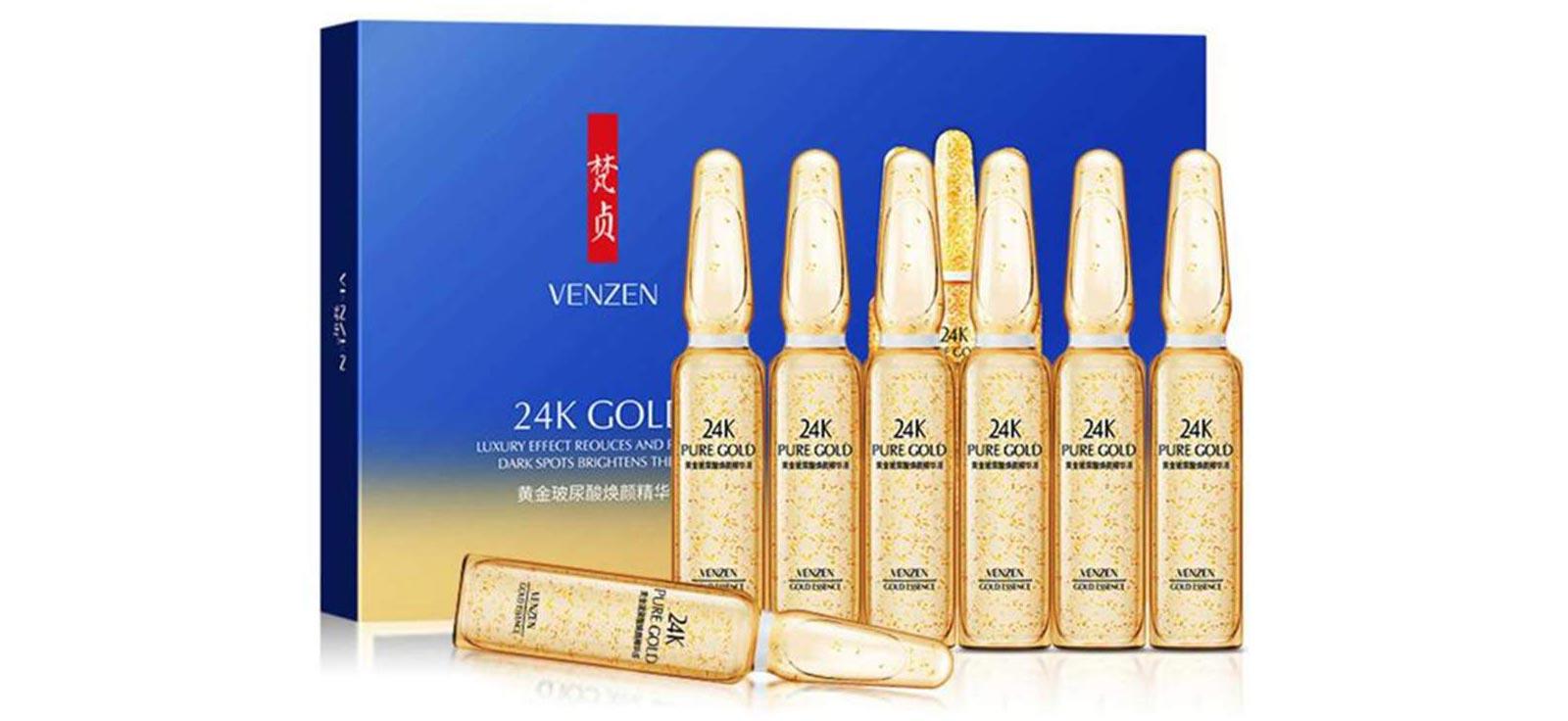 سرم طلا 24 عیار ونزن