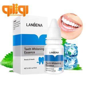 سرم و محلول سفید کننده دندان لانبنا